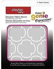 Diaper Genie Playtex Expressions Fabric Sleeve, Grey Clovers