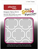 Playtex Diaper Genie Expressions Diaper Pail Fabric Sleeve, Grey Clovers