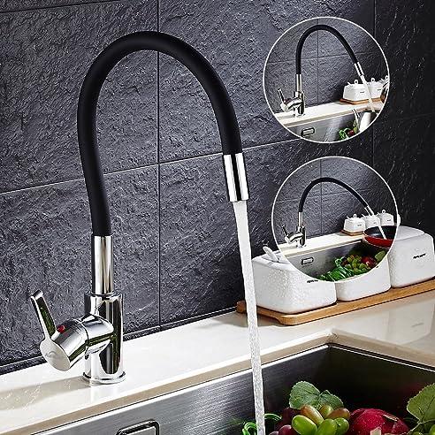 Erstaunliche Bilder mischbatterie küche schwarz - Am besten ...
