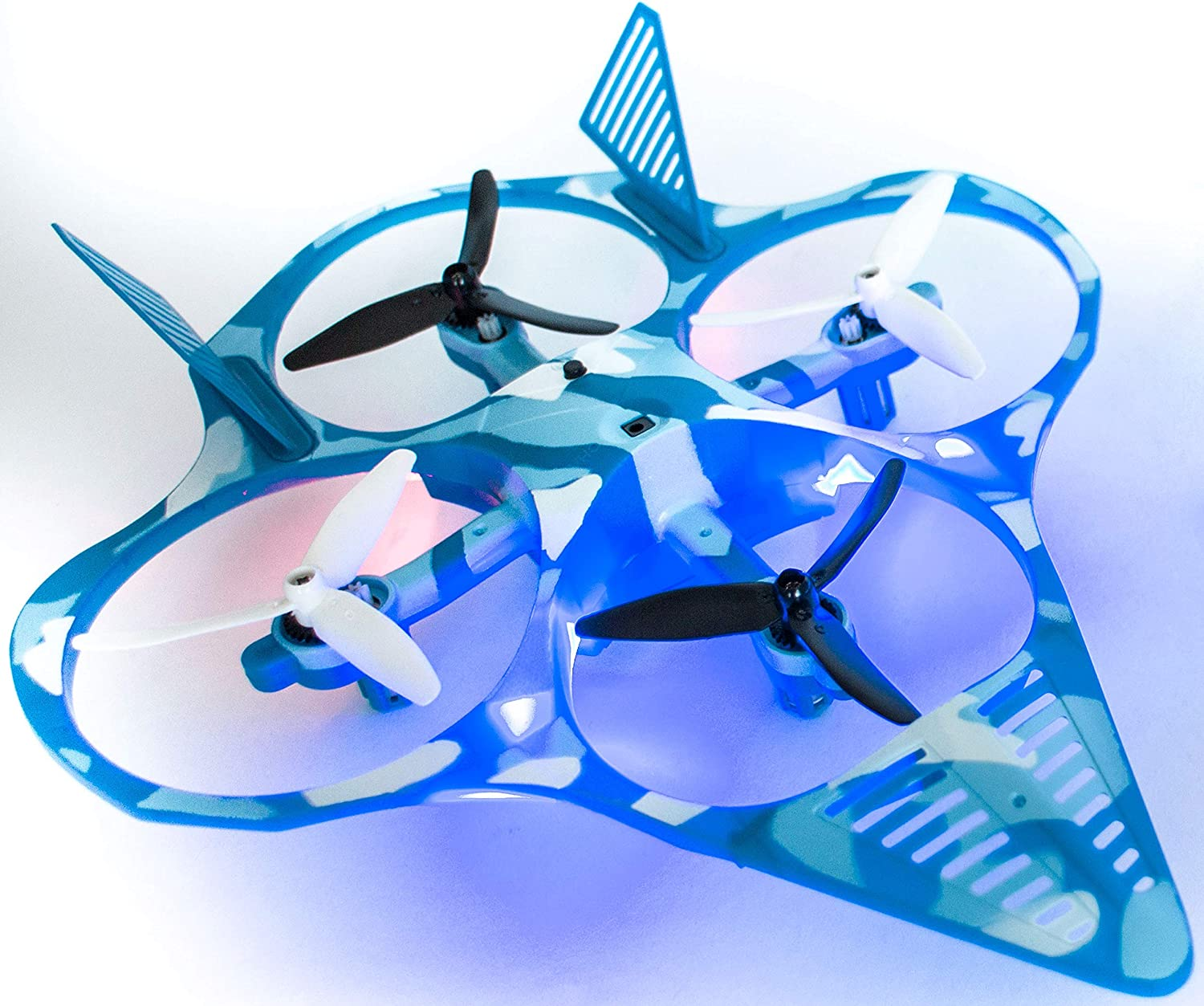 EWONDERWORLD Fighter Jet Drone for Kids Quadcopter Easy to Fly Toy Drone for Beginners