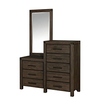Delicieux HOMES: Inside + Out IDF 7382CM Furniture Of America Dougherty Dresser And  Mirror,