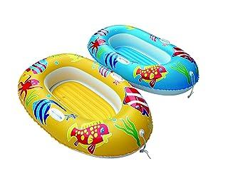 BTX s.r.l. (BTX))- CANOTTO Fish Boat 137cm BL409, Multicolore, 123
