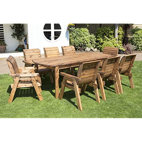 Solid Wood Table And Chairs: Solid Wood Garden Furniture: Amazon.co.uk