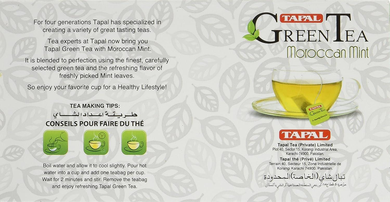 tapal 30 bolsas de té de té verde: Amazon.com: Grocery ...
