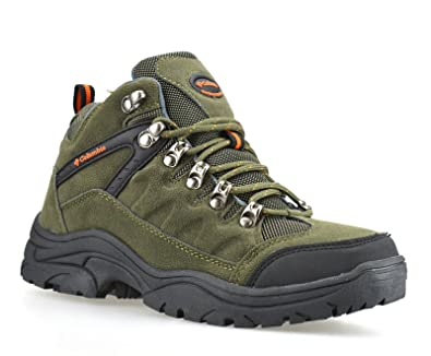 b4366f77d3c LADIES LEATHER LIGHTWEIGHT WATERPROOF NEW GIRLS WALKING HIKING TREKKING  ANKLE BOOTS SHOES SIZE 2 3 4