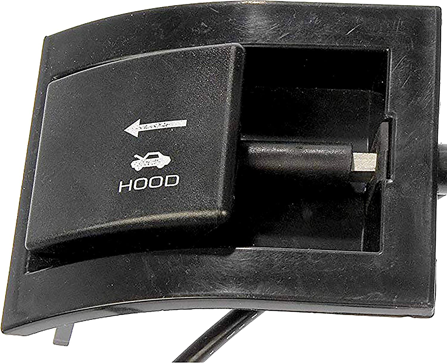 APDTY 023152 Hood Release Cable with Pull Handle For 1987-1991 Ford Bronco F150 F250 F350 Replaces Ford Part #: E7TZ16916A