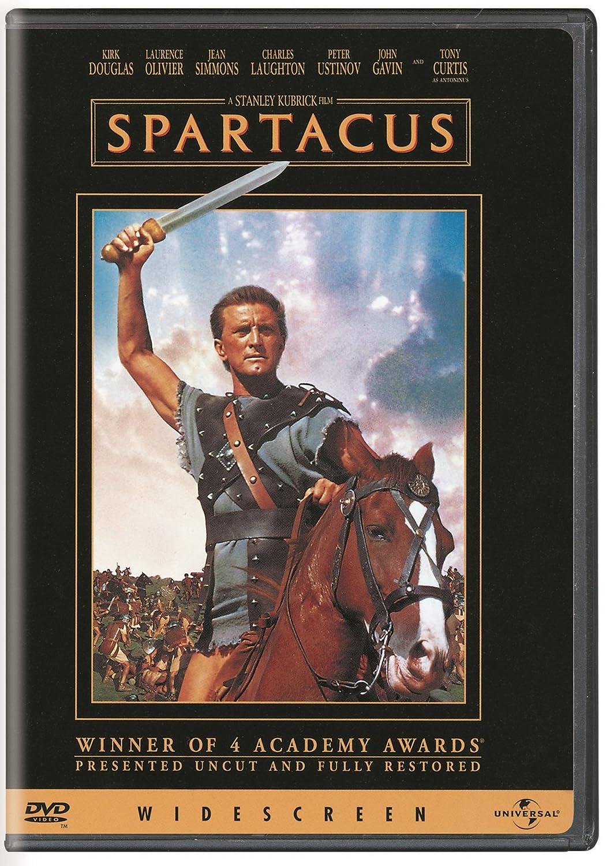 Spartacus (Bilingual) Kirk Douglas Richard Alexander Laurence Olivier Glenn E. Anderson