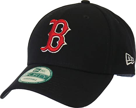 New Era Boston Red Sox The League Velcroback 9forty Caps ...