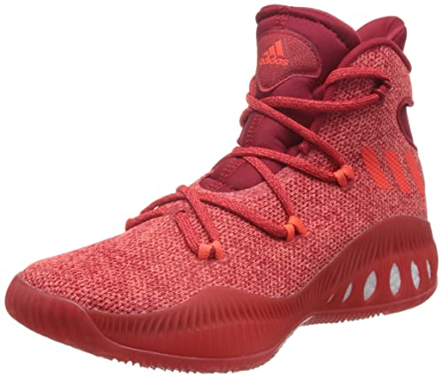 adidas Crazy Explosive J, Scarpe da Basket Bambino, Rosso (Redsld/Scarle/