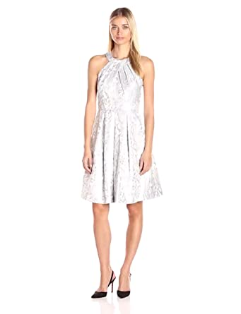 a5b46cf9337 Eliza J Women's Halter Midi-Length Party Dress at Amazon Women's ...