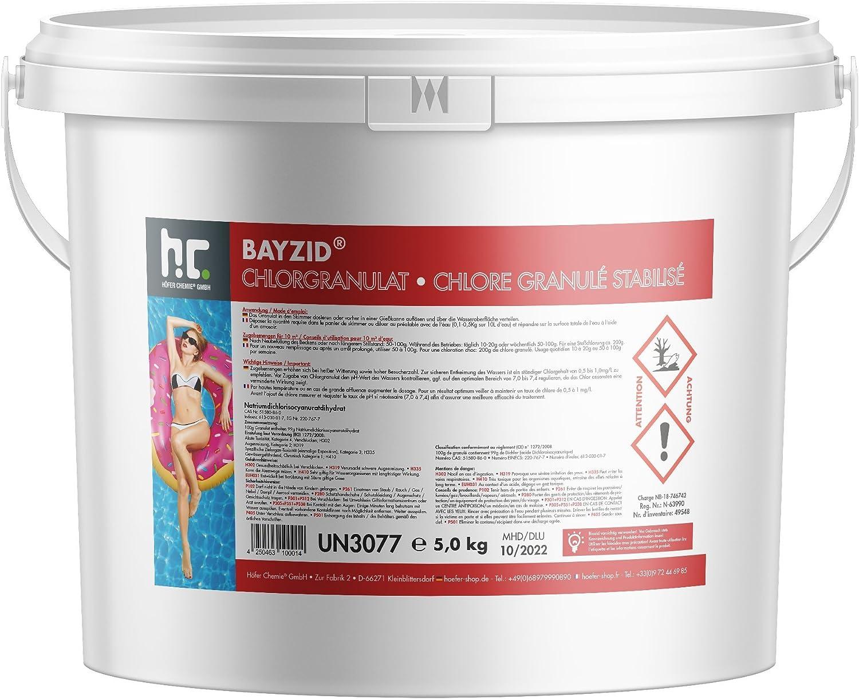 Höfer Chemie 5 kg BAYZID Chlor Granulat