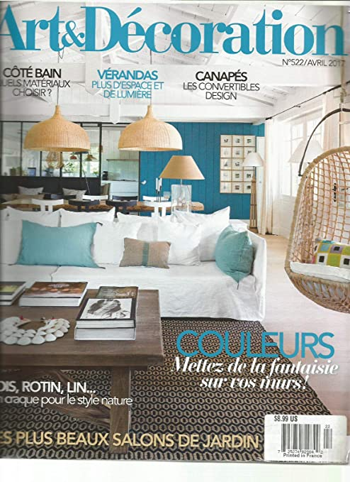 Amazon.com: ART & DECORATION FRENCH MAGAZINE No.522 MAR ...