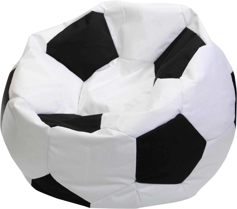Sauermilch 13068000000 - Puff, diseño de balón de fútbol, color ...