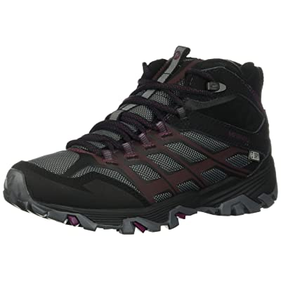 Merrell Womens Moab FST Ice+ Thermo Hiking Shoe, Black, 6 B(M) US | Boots