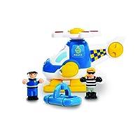 WOW Toys 10642Oscar Police Hélicoptère
