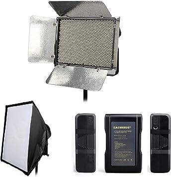 Aputure Luz Tormenta ls 1 C V-Mount Kit de iluminación LED de Video 3200-5500k Panel