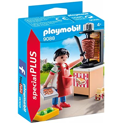 PLAYMOBIL Kebab Vendor Building Set: Toys & Games