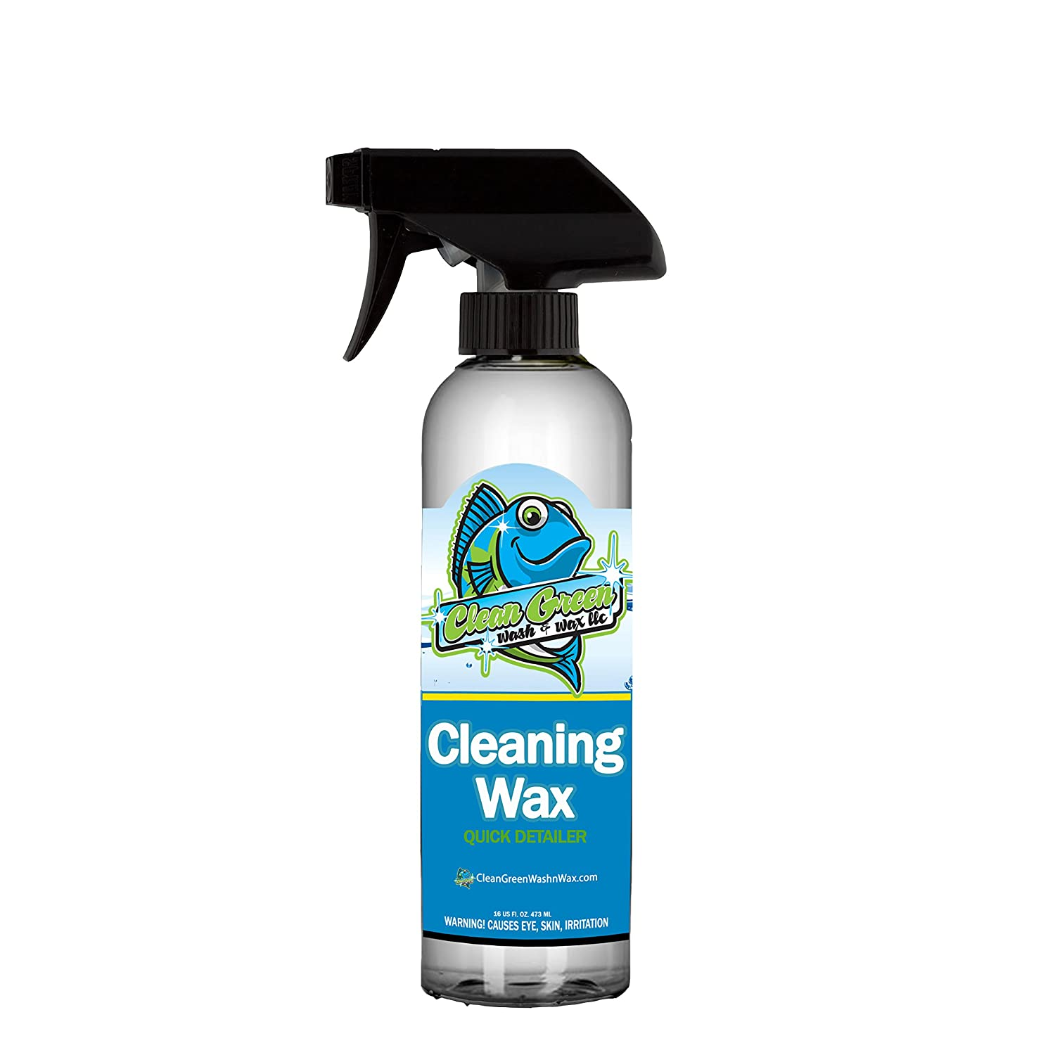 Clean Green Wash & Wax Cleaning Wax Spray Sealant the best spray wax, quick detailer or waterless wash to clean and protect your car, motorcycle, UTV, and RV