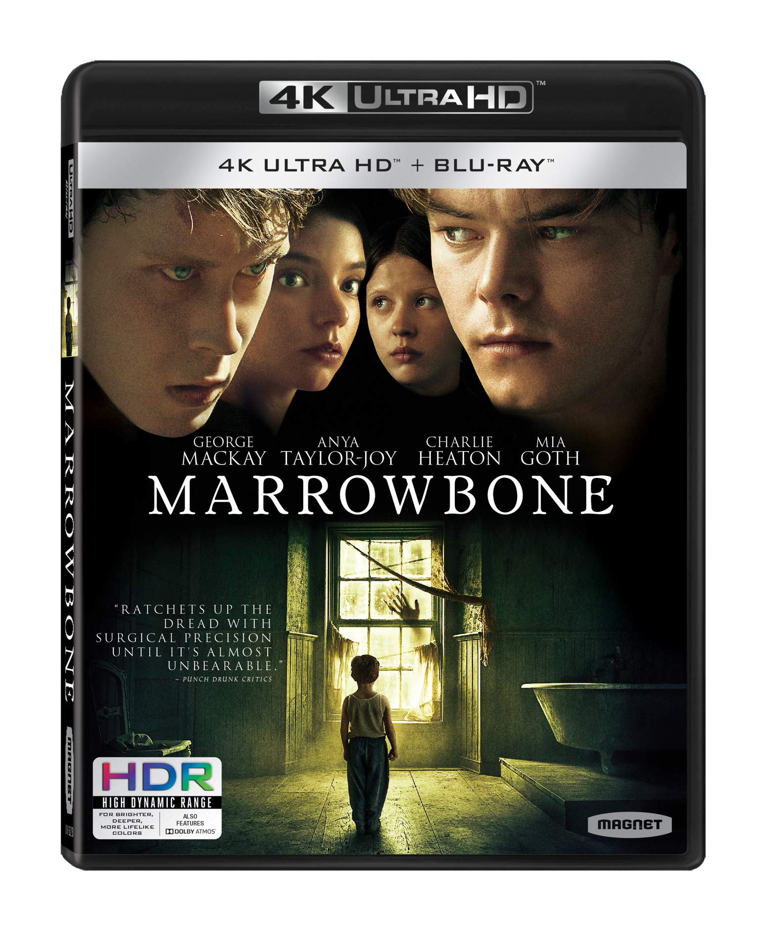 4K Blu-ray : Marrowbone (With Blu-ray, 4K Mastering)