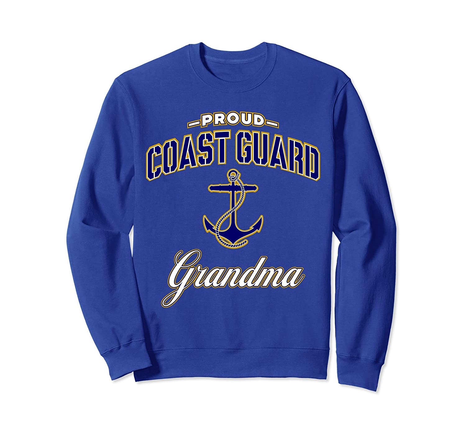 Coast Guard Grandma Sweatshirt Gift for Women-alottee gift