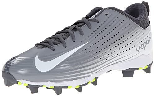 NIKE Men's Vapor Keystone 2 Baseball Cleat Black/White Size 9 M US dFhqdXGZ