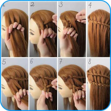 Amazon Com Hairstyle Tutorials For Girls Appstore For Android