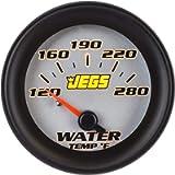 JEGS 41461 2-1/16' Water Temperature Gauge