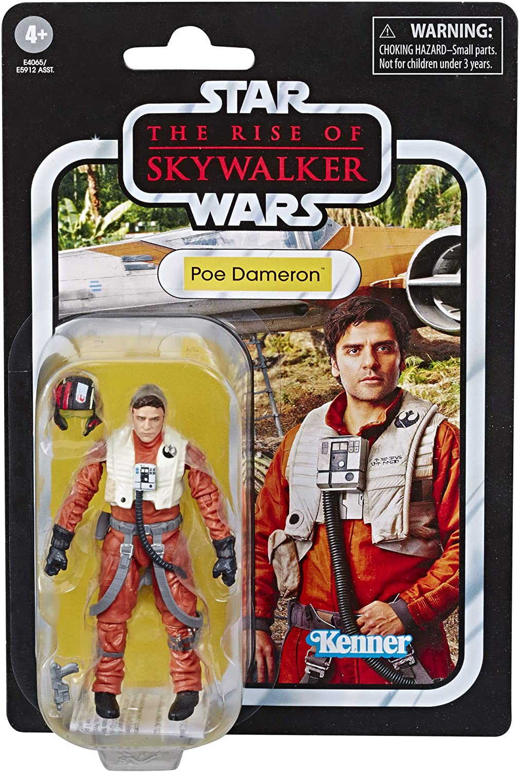 Amazon Com Star Wars The Vintage Collection Poe Dameron Toy Action Figure Toys Games