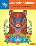 Hello Angel Majestic Animals Coloring Collection