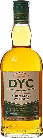 DYC Malta Estuchado Single Malt Whisky, 40% - 700 ml