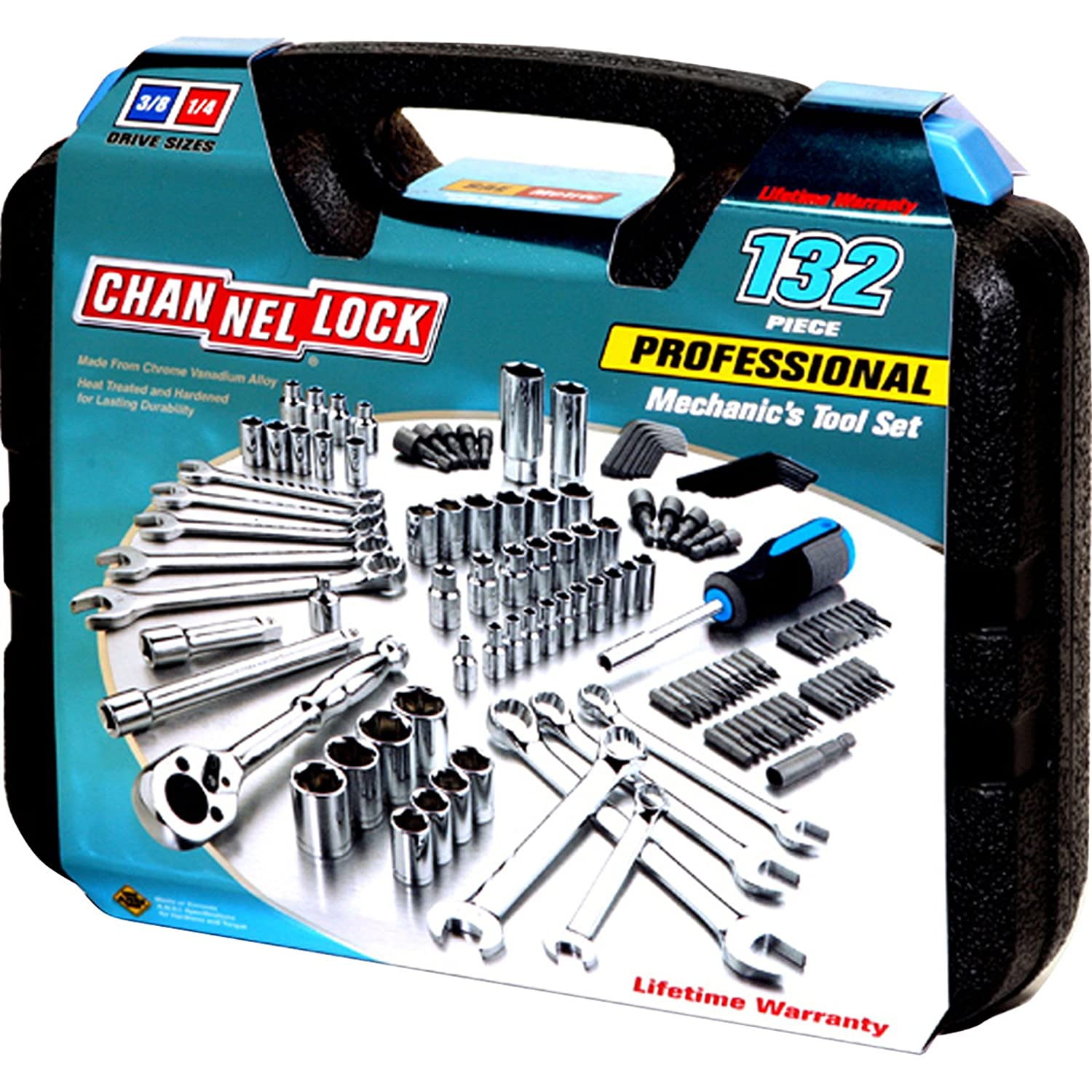 Channellock 39070 94 Piece Tool Set Channel Lock