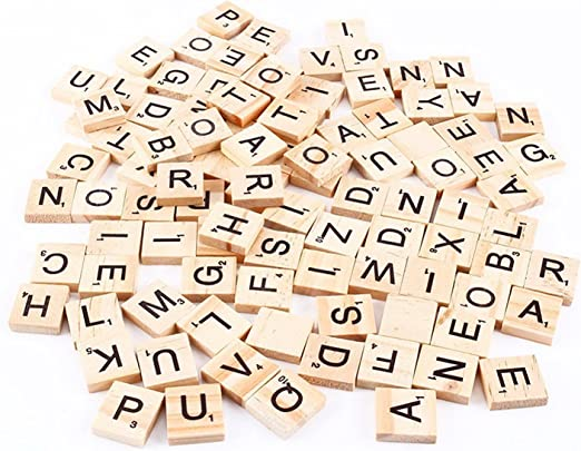 BeatlGem Scrabble Tiles (100 fichas de Letras): Amazon.es: Hogar