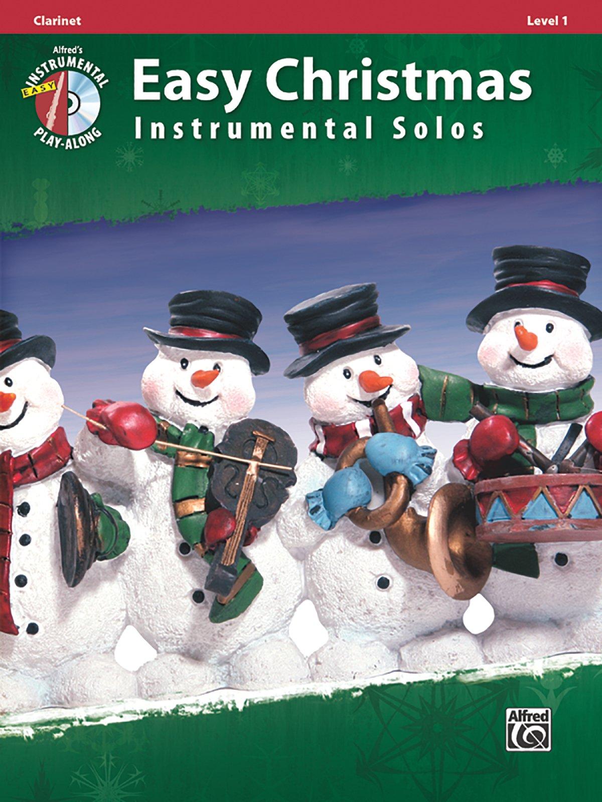 Easy Christmas Instrumental Solos, Level 1: Clarinet, Book & CD (Easy Instrumental Solos Series) pdf