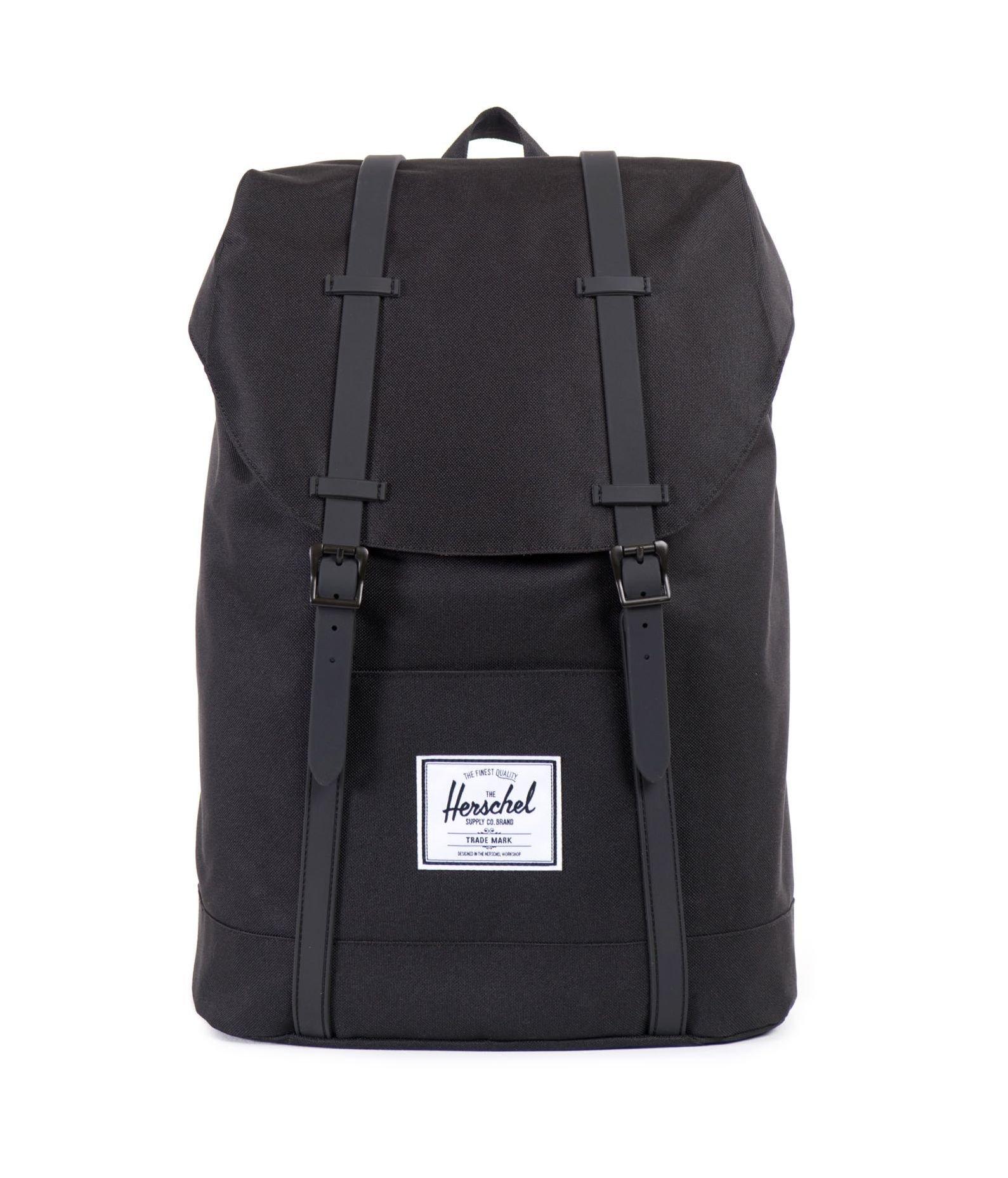 Herschel Supply Co. Retreat Backpack,Black/Black,One Size