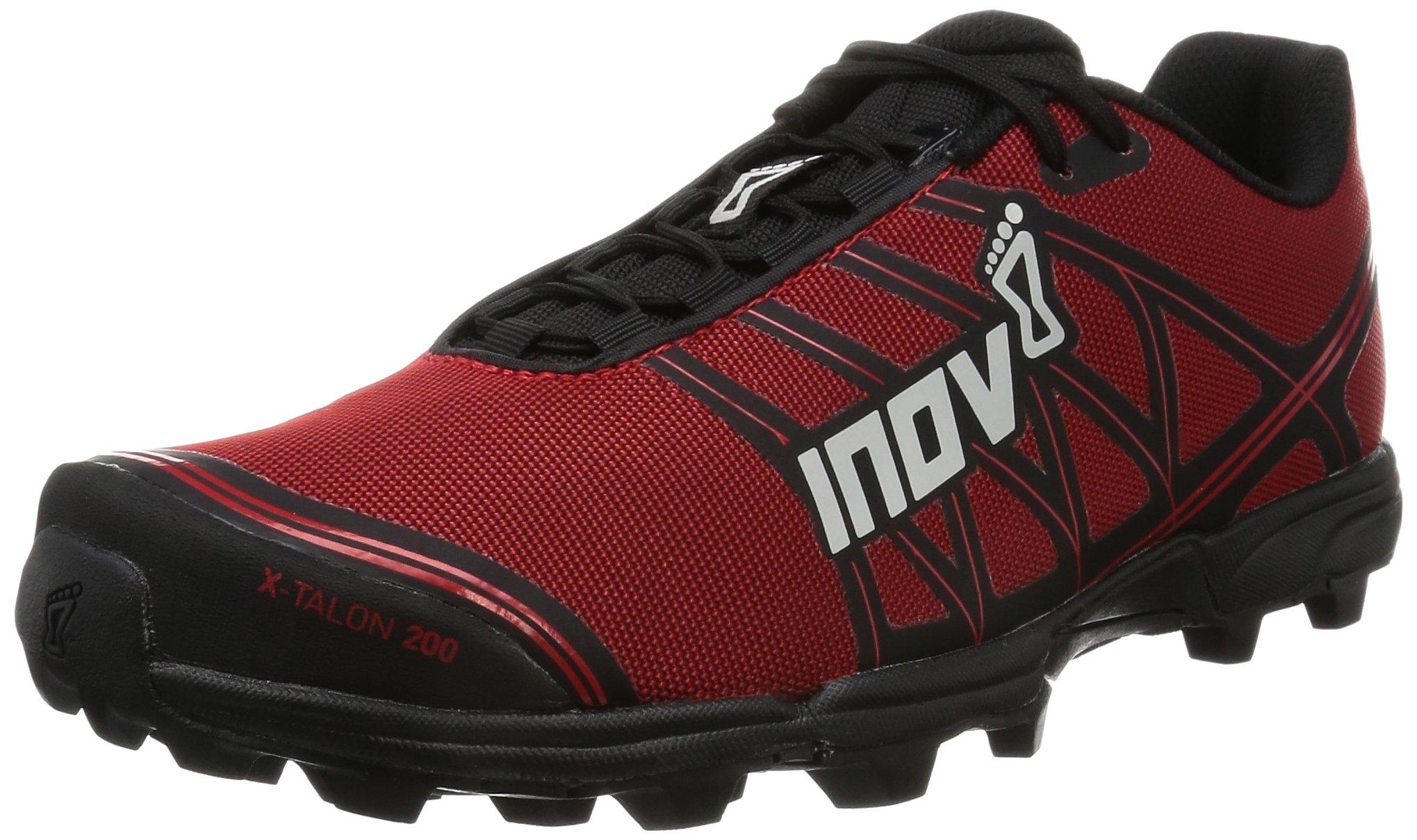 Inov-8 X-Talon 200 Trail Runner, Red/Black,13 US Women's/11.5 US Men's