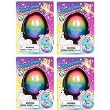 Surprise Growing Unicorn Hatching Rainbow Egg Kids Toys, Assorted Colors (4, Rainbow)