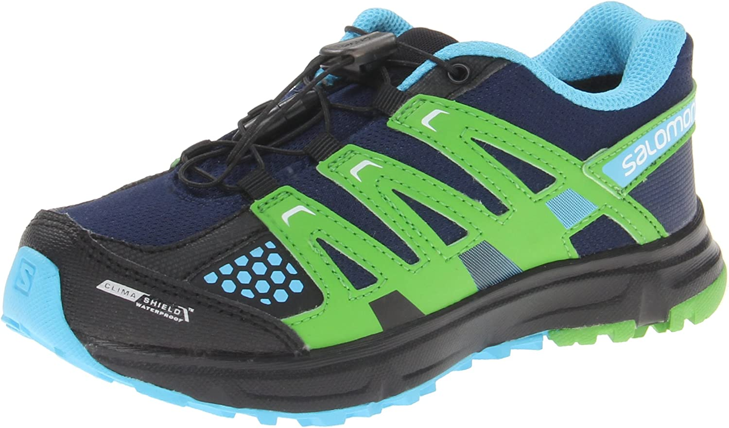 SALOMON XR Mission CSWP J Lake Light Green Fluo Blue 32