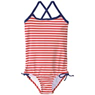 Kanu Surf Girls' Bali Beach Sport Banded One Piece Swimsuit