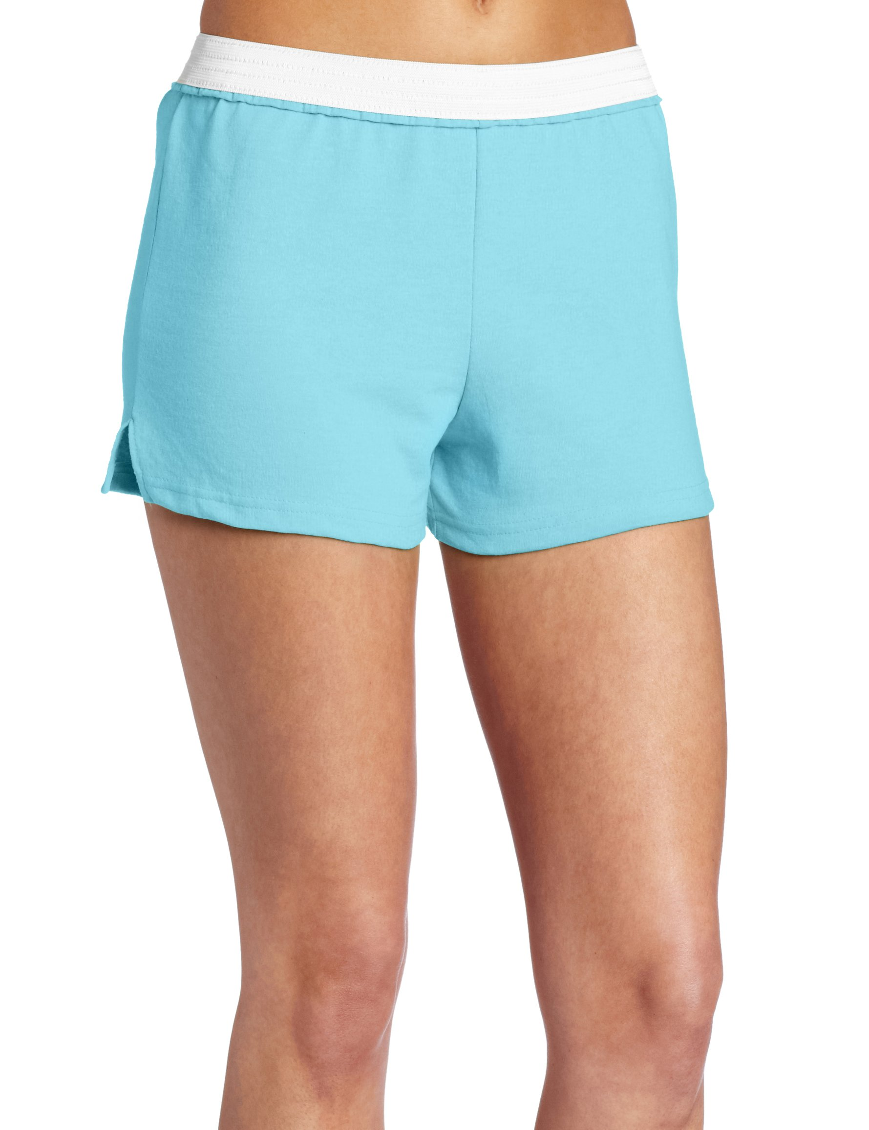 Soffe Juniors Athletic Short, Lt. Turquoise, Small