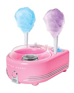 Nostalgia COT5PK Hard & Sugar-Free Candy, Deluxe Cotton Candy Maker
