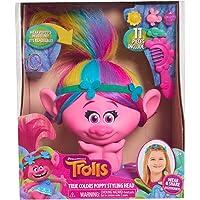 Trolls Poppy True Colors Styling Head, Multicolor