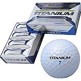LEZYNE(レザイン) U.S.Athlete チタン配合高反発高弾道2ピースゴルフボール 12個入り ホワイト USBA-4713 WH