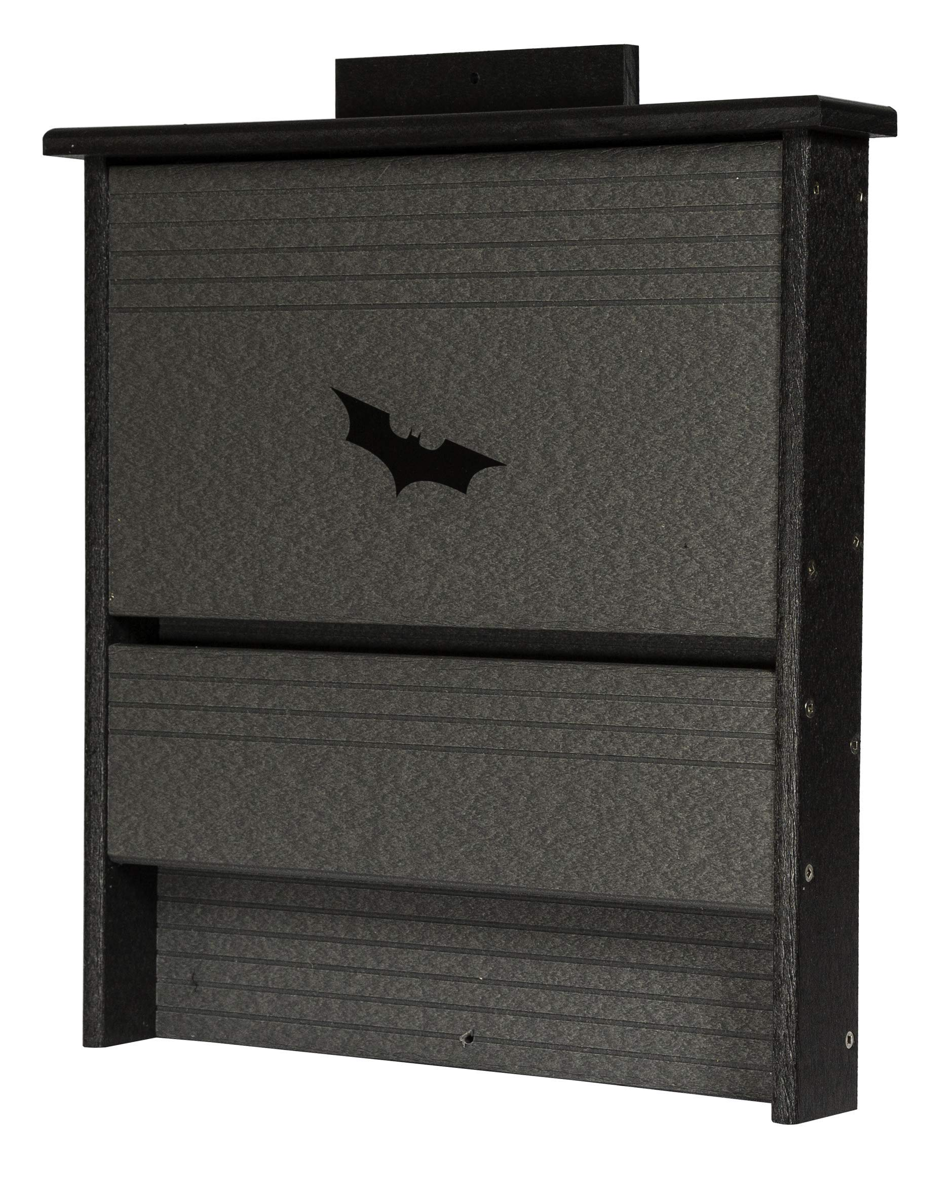 DutchCrafters Amish Poly 20 Colony Bat House (Milwaukee Brown & Weathered Wood)