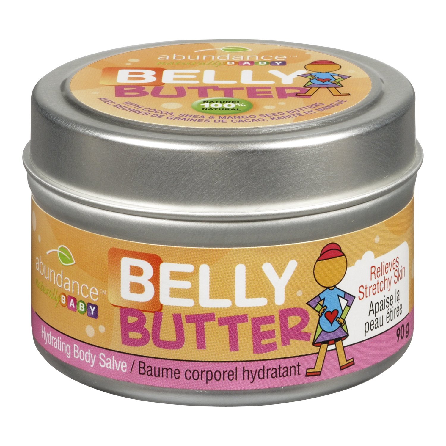 Abundance Naturally Baby Belly Butter 90g Abundance Naturally Ltd.