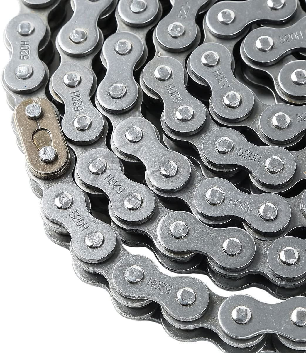 XMT-MOTO Heavy Duty 520H-120L Motorcycle ATV Drive Chain 520 Pitch 120Links
