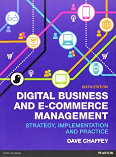 Ebusiness And Ecommerce Management Dave Chaffey 5th Edition Pdf