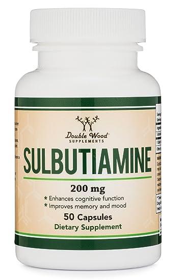 Amazon Com Sulbutiamine Capsules Nootropic Supplement Made In Usa