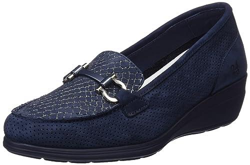 24 HORAS 23524, Mocasines para Mujer, Azul (Marino 5), 37 EU: Amazon.es: Zapatos y complementos