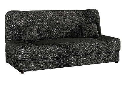 Schlafsofa Jonas Sofa Mit Bettkasten Und Schlaffunktion Bettsofa Dauerschlafer Sofa Schlafcouch Materialmix Couch Vom Hersteller