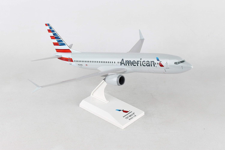 SKYMARKS AMERICAN AIRLINES 737MAX8 1:130 SCALE PLASTIC SNAPFIT MODEL SKR962